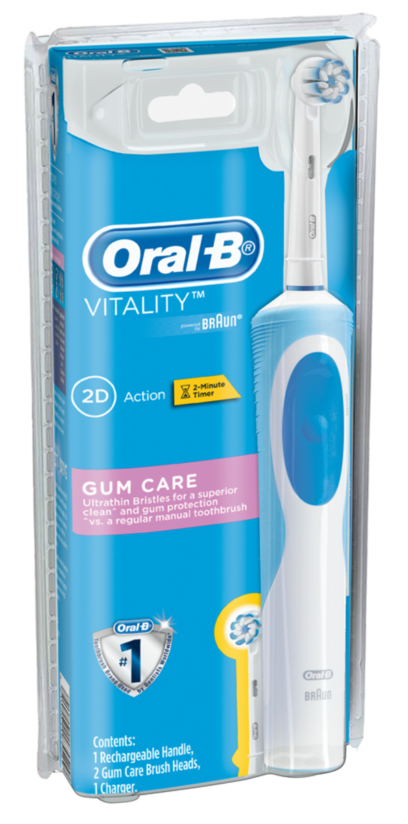 Braun D12.523 Vitality Gum Care Rechargeable Toothbrush(Parallel Import)