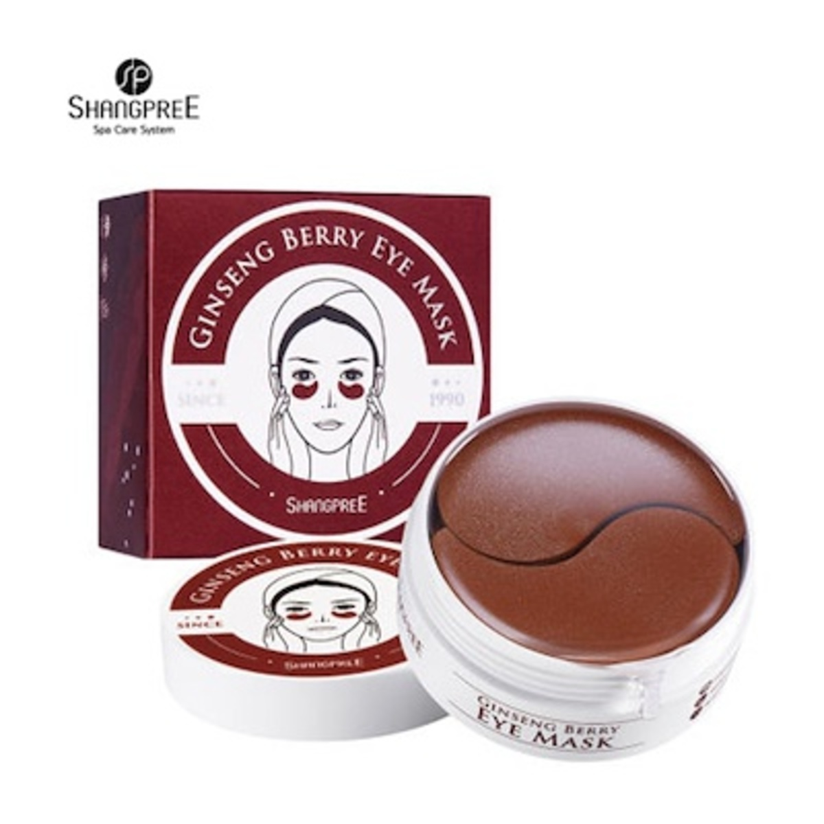 Ginseng Berry Eye Mask 1 pack / 1.4g x 60pcs
