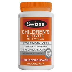 Swisse 兒童多種維生素咀嚼片 120片 120tablet
