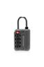Bon Voyage TSA Letter Luggage Lock / 4-Dials - Grey