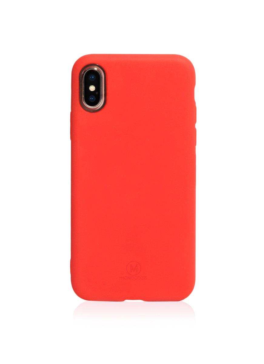 Lucid | 強力防撞手機殼 - iPhone X - 紅色