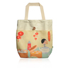 Little Lon x MONOCOZZI | Canvas Tote Bag -  Yum Cha