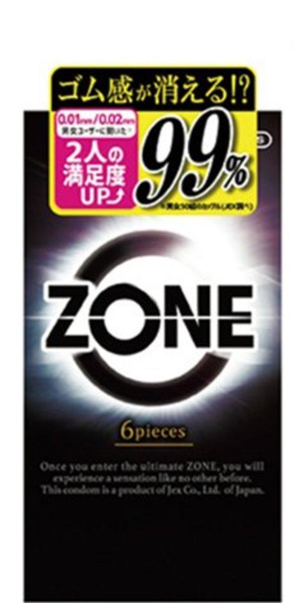 JEX ZONE BOX OF 6 Condom
