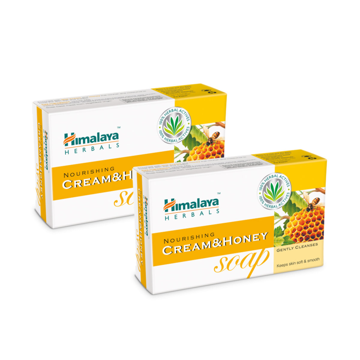 2 pcs Noruishing Cream&Honey Soap 75g  EXP:07-2021