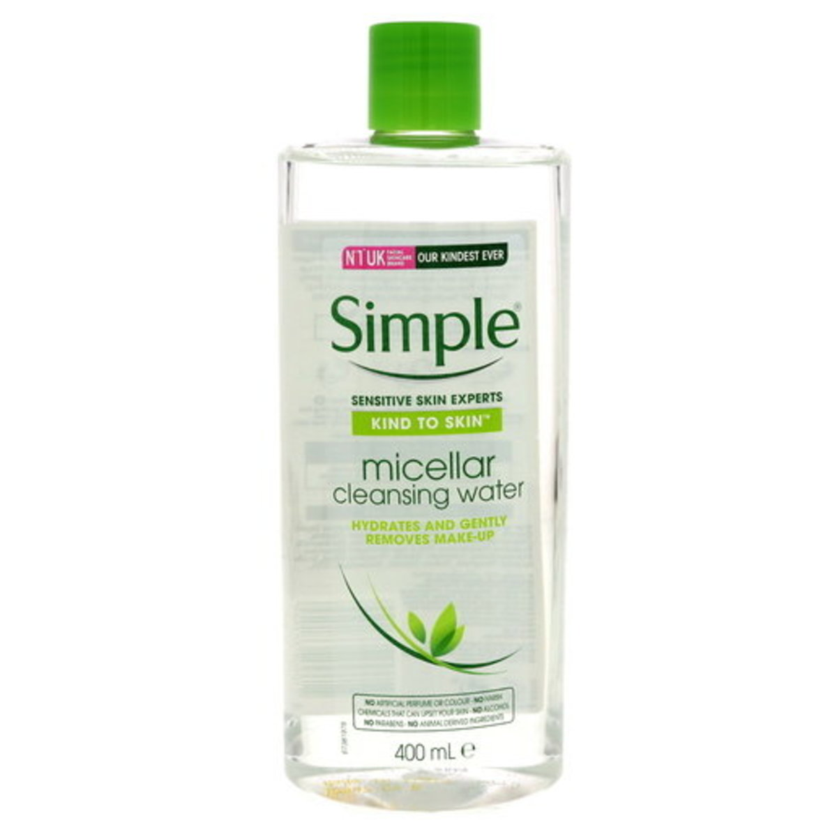 SIMPLE MICELLAR CLEANSING WATER 400ML (Authorized dealer import)