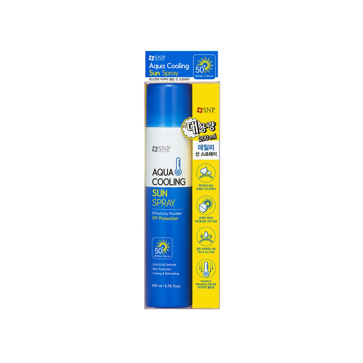 SNP Aqua Cooling Sun Spray 200 ML
