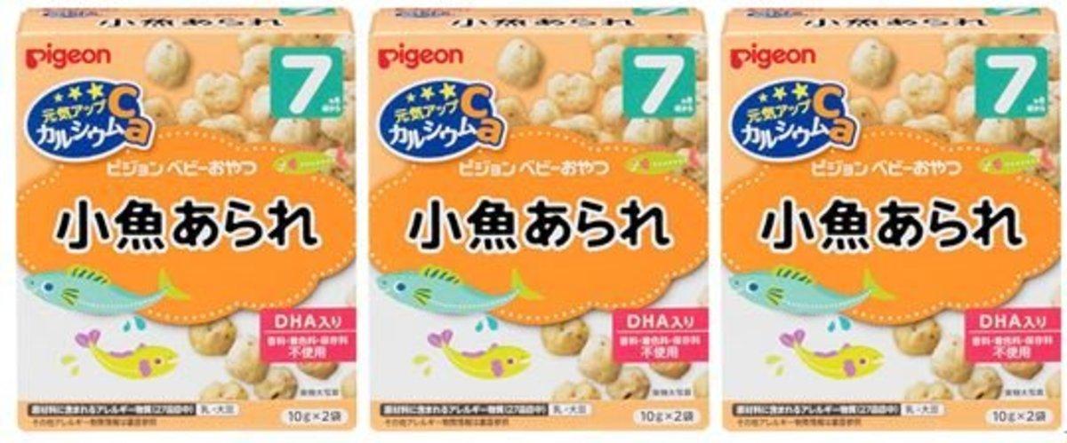 高鈣魚米波波餅 13367 (平行進口貨品) 3件套裝