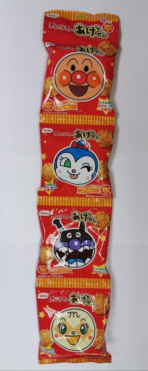 麵包超人燒餅4連包 (平行進口貨品)