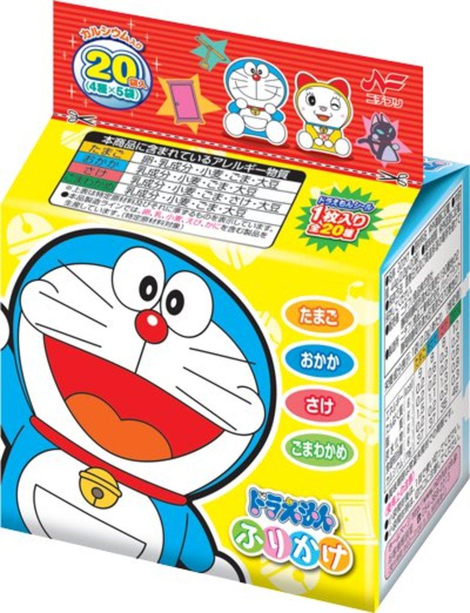 Doraemon tasty sprinkles (20 mini packs) (Parallel Import Product)