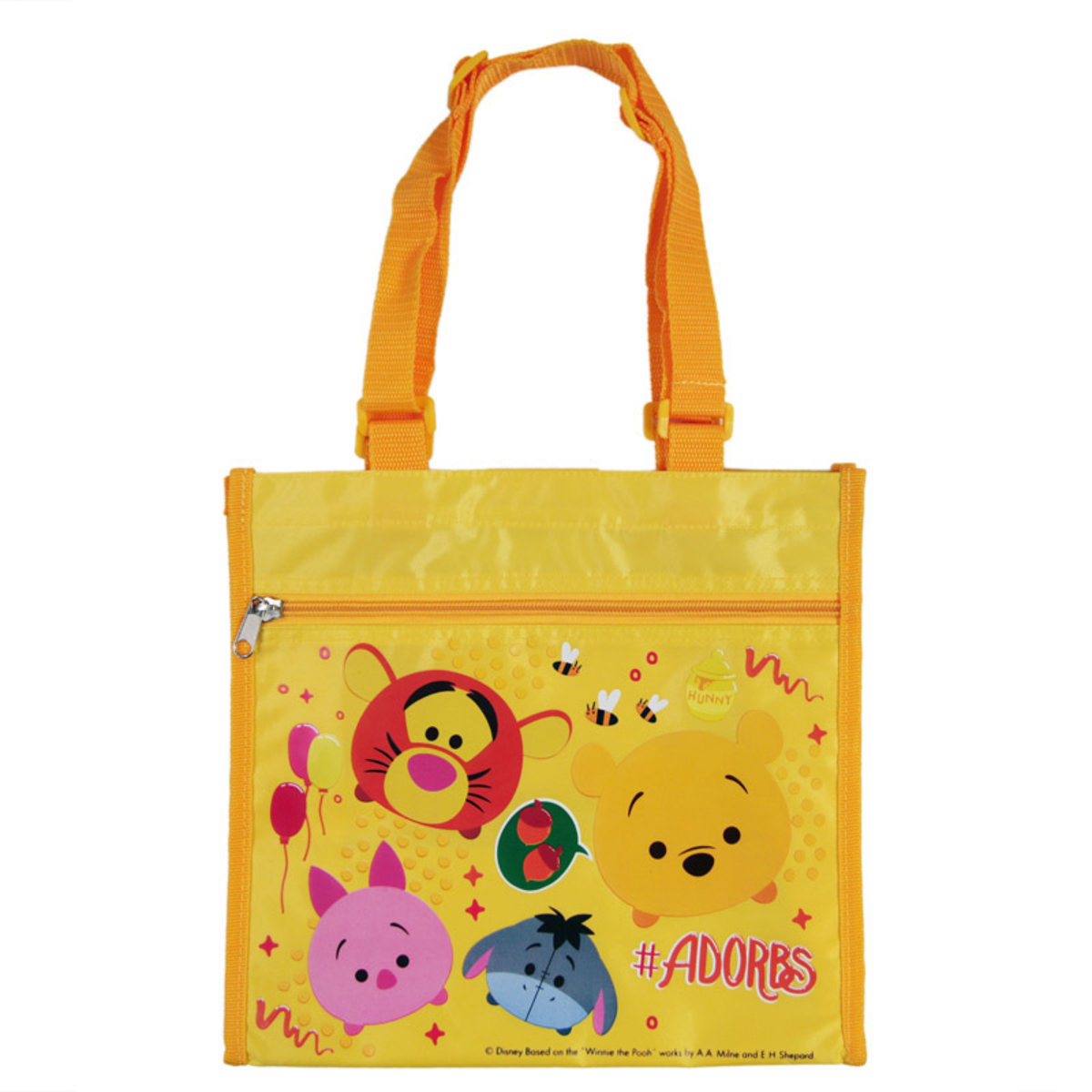 Lunch Bag (Pooh/Yellow) (Licensed by Disney)