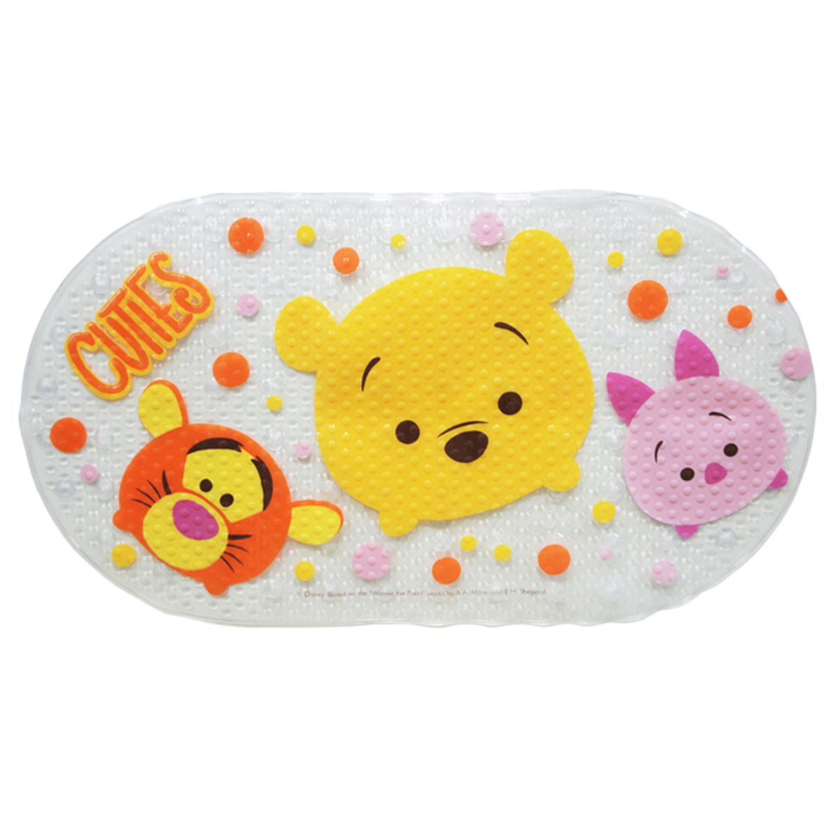 浴室防滑墊 (Pooh) (迪士尼許可產品)