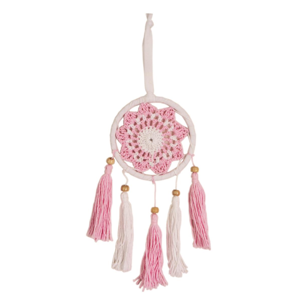 Dream Catcher (white/pink)
