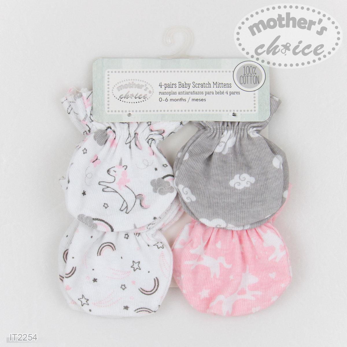 4 件裝嬰兒手襪 (獨角獸)