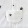 (Winter) Halo Fleece Swaddle (Charcoal Mini Stars/NB/0-3mth)
