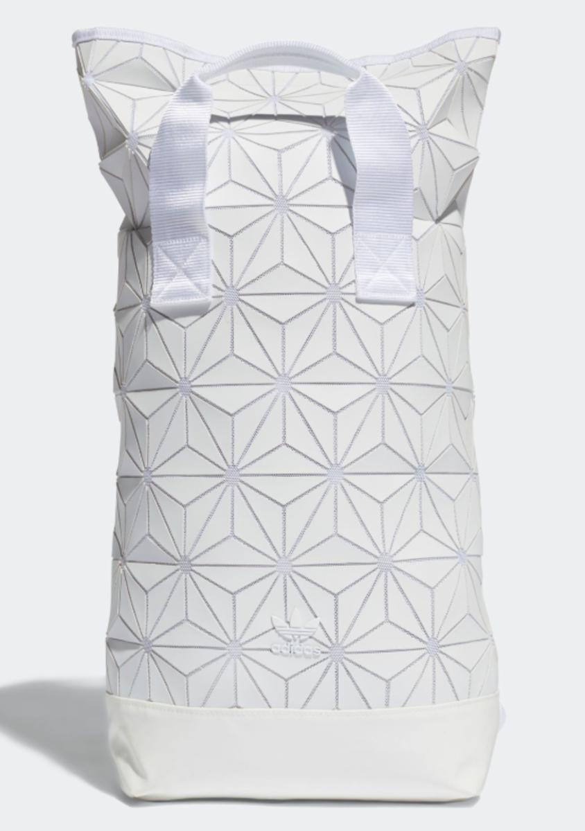 """(白色) 日本Adidas """"BACKPACK ROLL TOP 3D"""" 背囊"""
