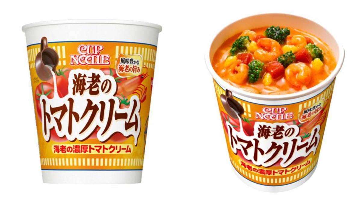 (3個)日本日清Cup Noodle 香濃蝦蕃茄忌廉杯麵