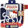 (Navy Hello Kitty Bow) Japan Multi-function Towel Pouch for Umbrella/Water Bottle