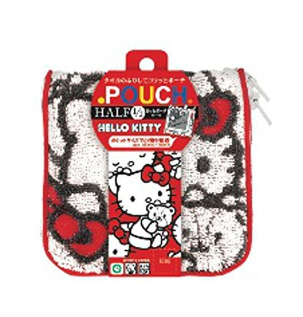 (Hello Kitty) Japan Multi-function Towel Pouch for Cosmetics/Accessories