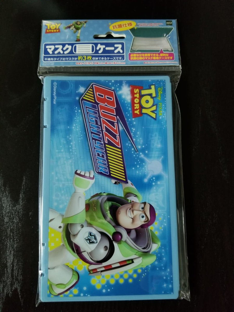(Portable/Toy Story Buzz) Japan Disney Portable Anti-bacterial Surgical Mask Case