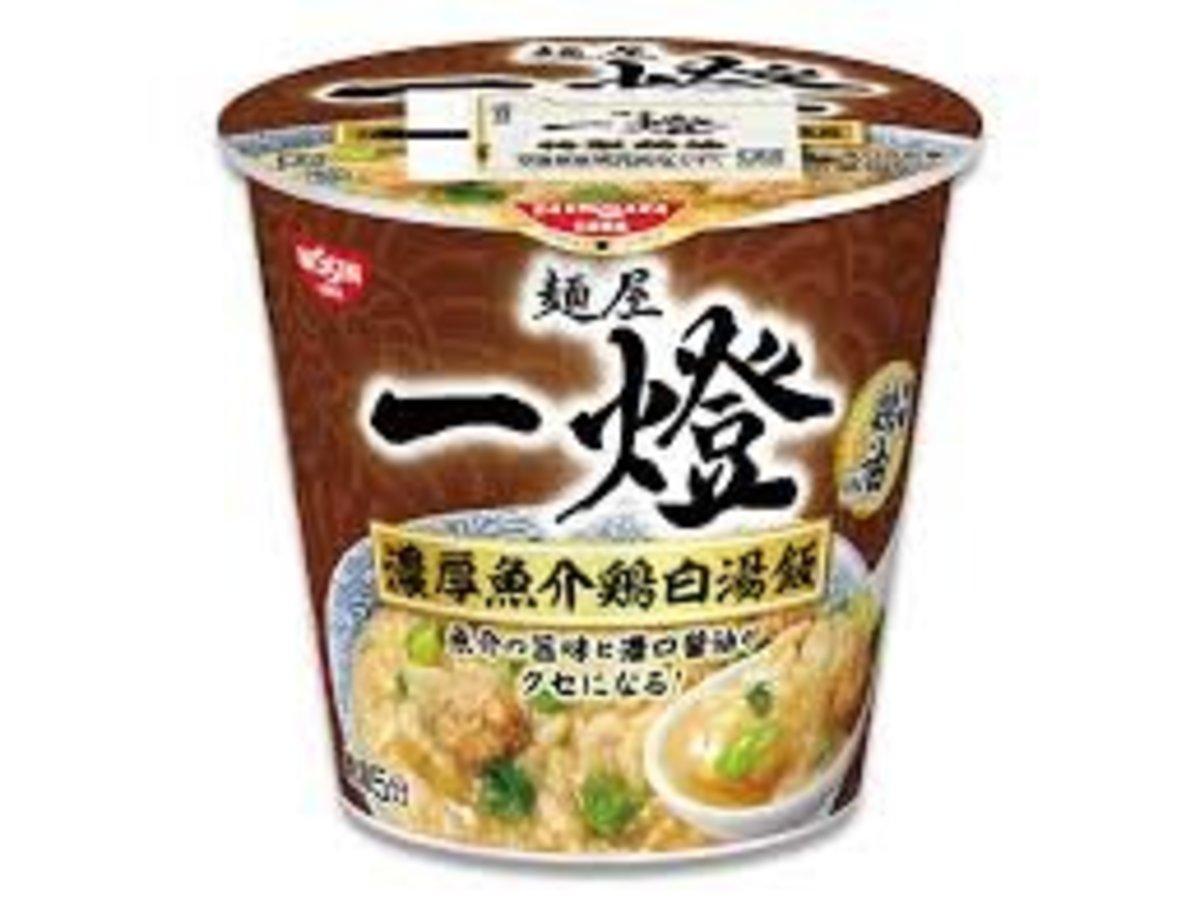(湯飯) 日本麺屋 一燈 濃厚魚介鷄白湯飯 x 6個