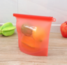 (Random Colour) (2 pcs) Silicone Re-usable Food Bag