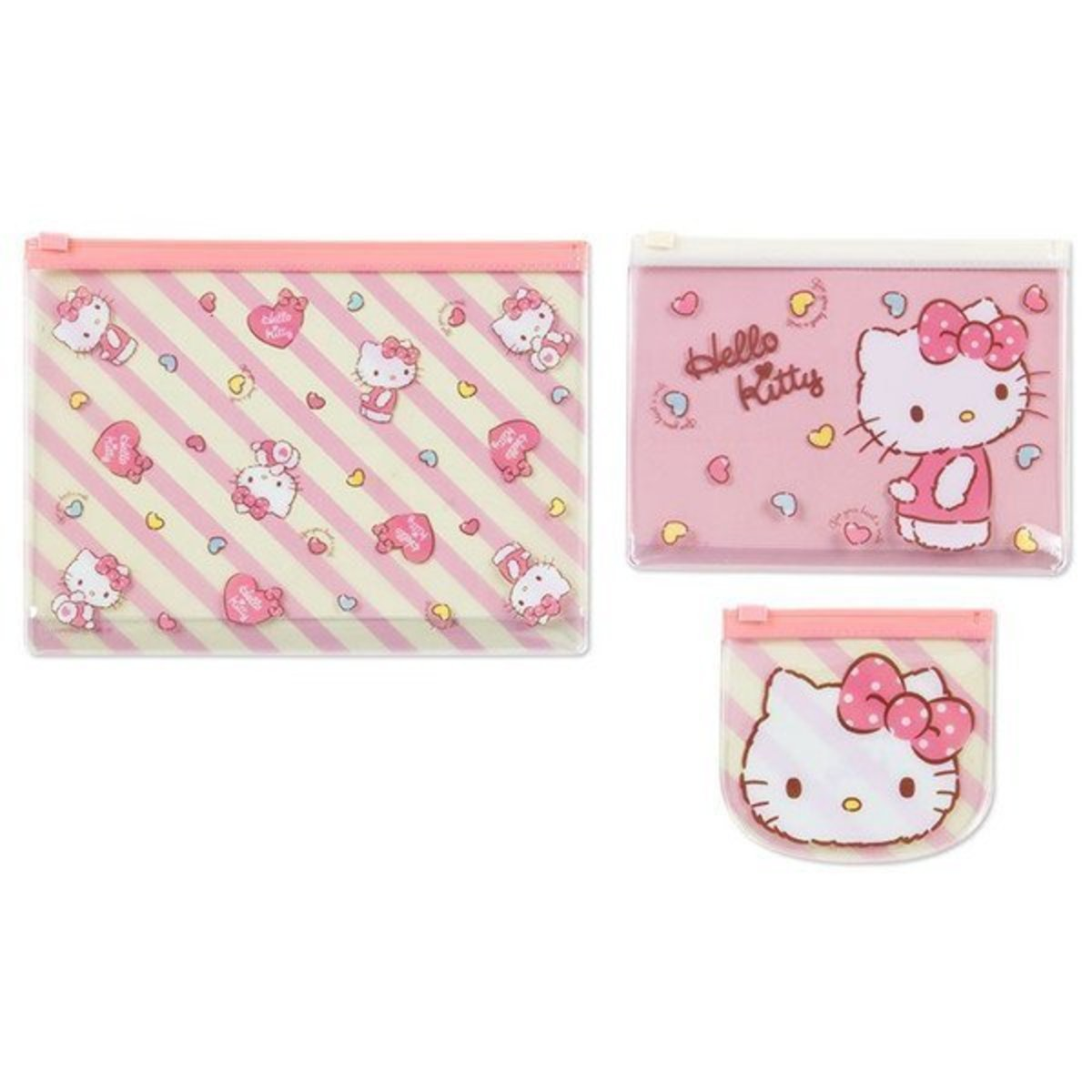 Sanrio Hello Kitty Face Mask Pink Bacteria Filter Travel Kit Cute Cat Gift 3D