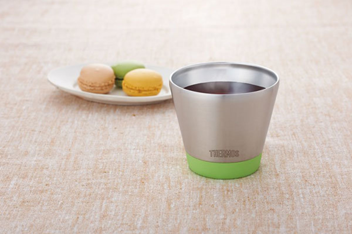 (Green) Japan THERMOS Stainless Steel Vacuum Insulated Cup JDD-301 AVD 300ml