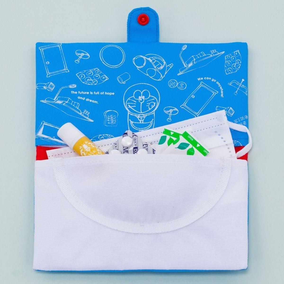 (Doraemon Treasure Bag) Japan Portable Surgical Mask Storage Bag/Anti-epidemic Supplies Treasure Bag