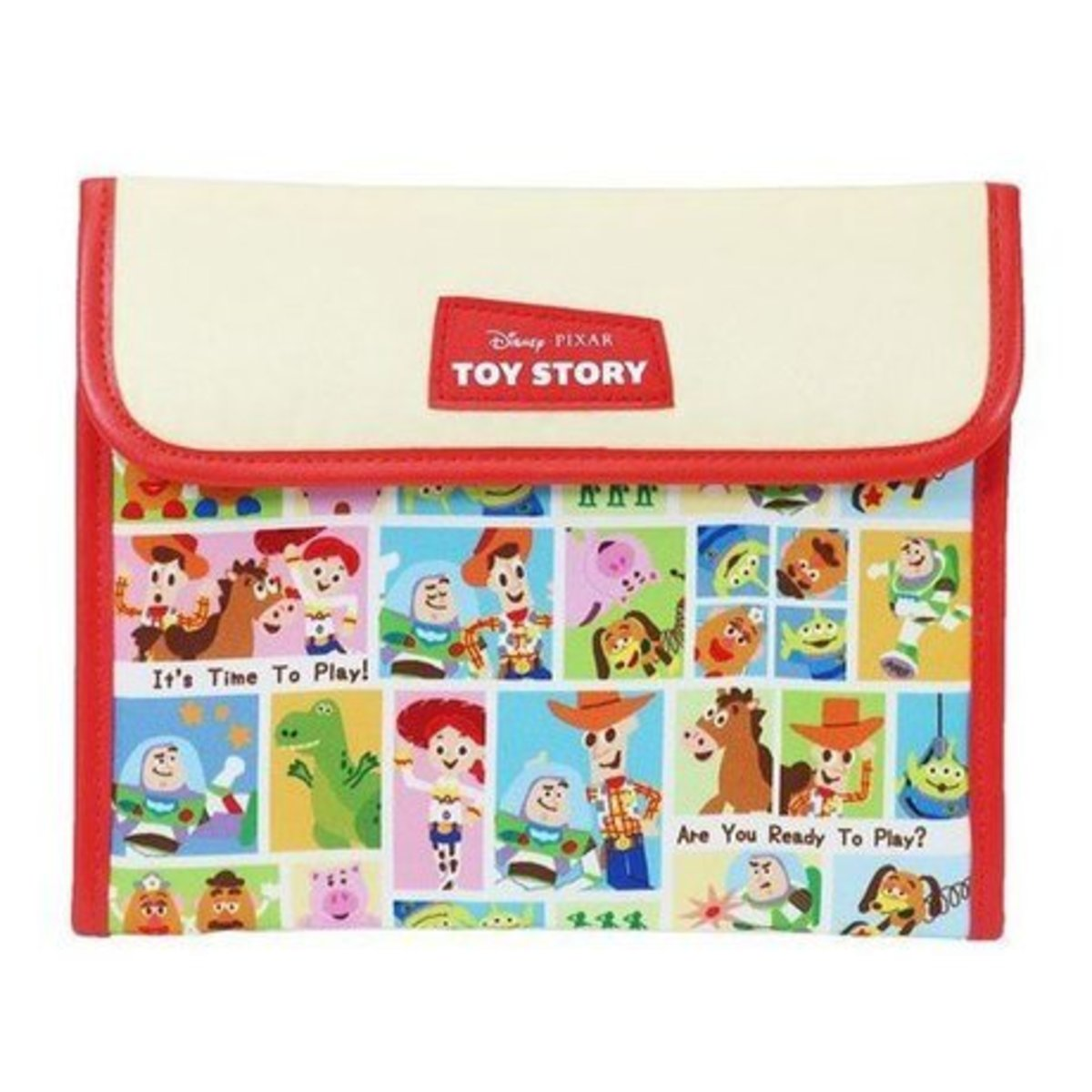 (N/Toy Story) Japan Disney Mother-Child Documents Storage Bag