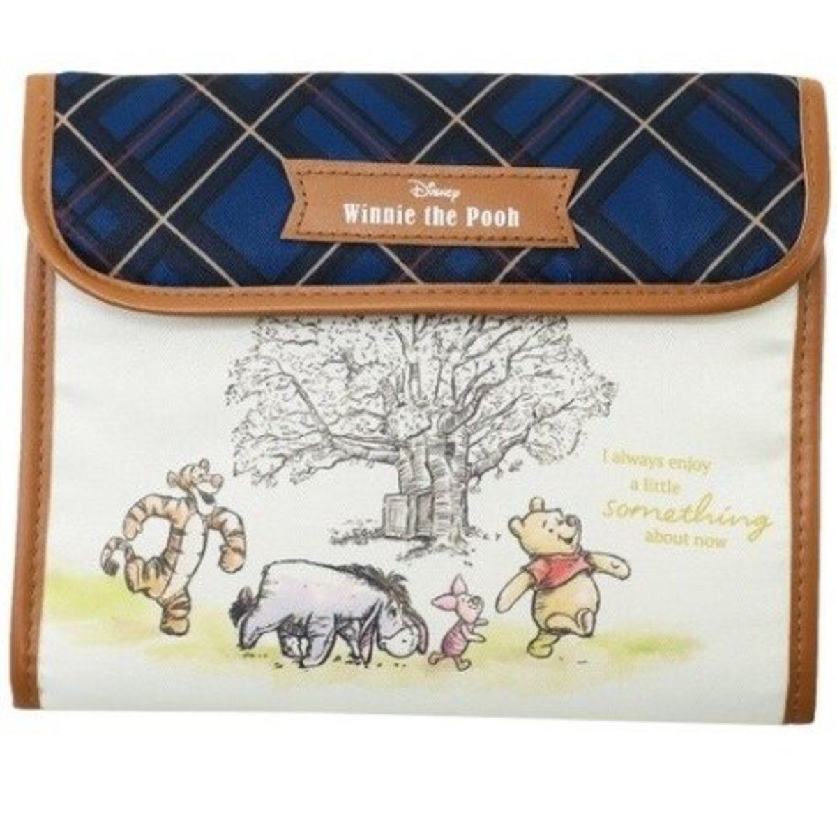 (Winnie the Pooh) Japan Disney Mother-Child Documents Storage Bag