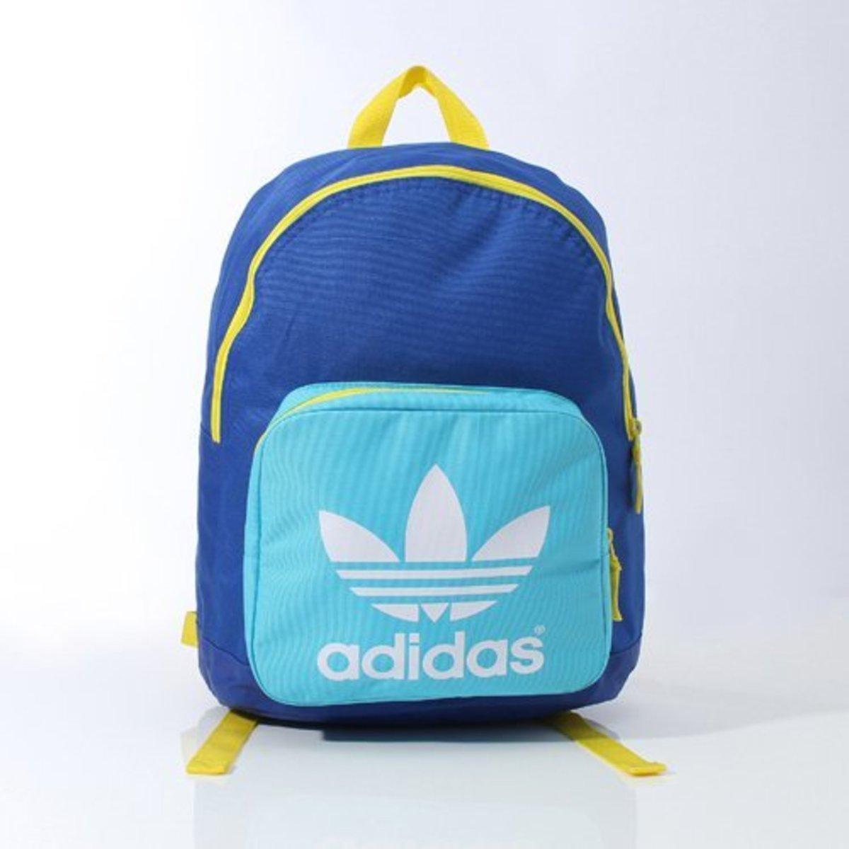 (Blue+Light Blue Backpack) Japan❤️adidas Originals AC BPACK CLASS Backpack