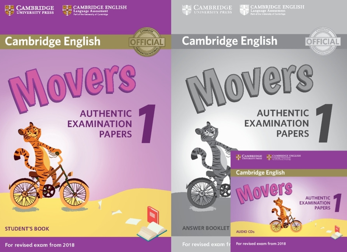 Movers 1 for Revised Exam from 2018套裝