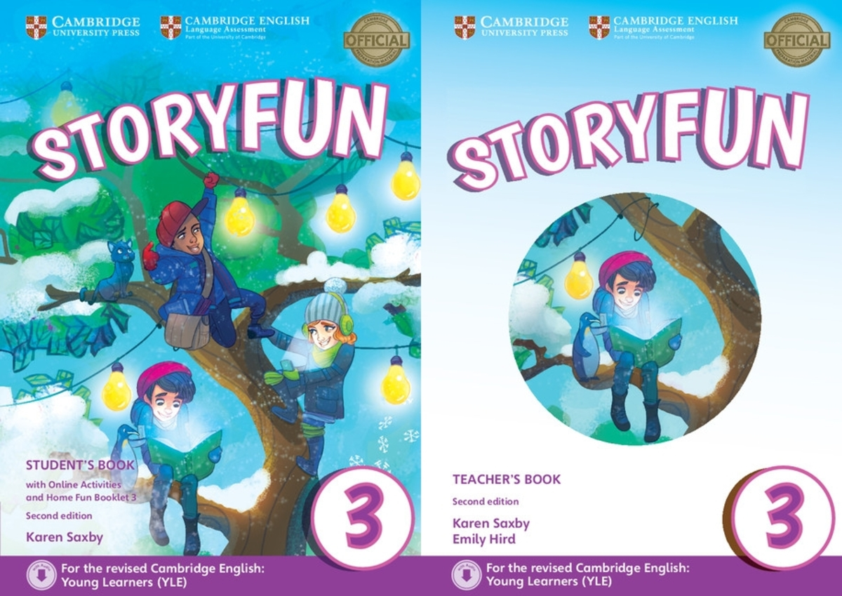 Storyfun for Movers 3 套裝(2/e)