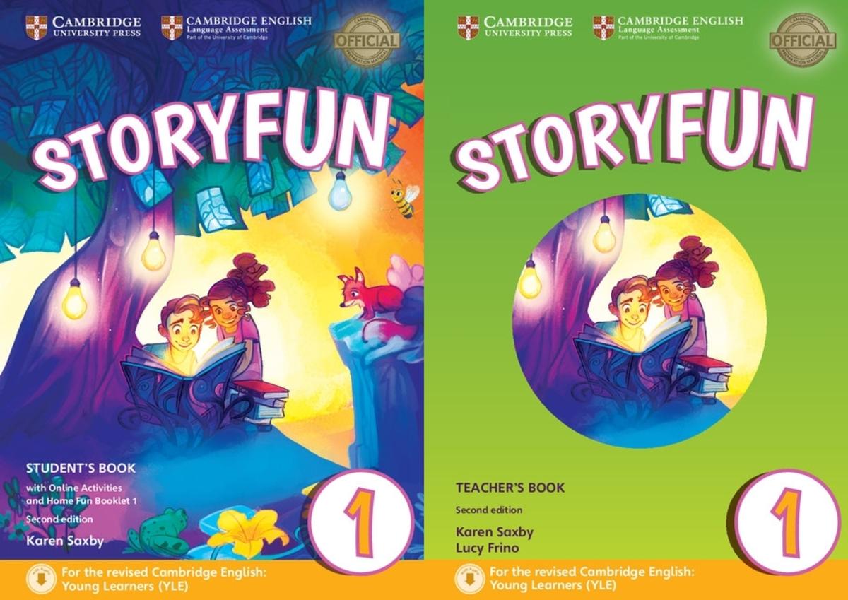 Storyfun for Starters 1 套裝(2/e)