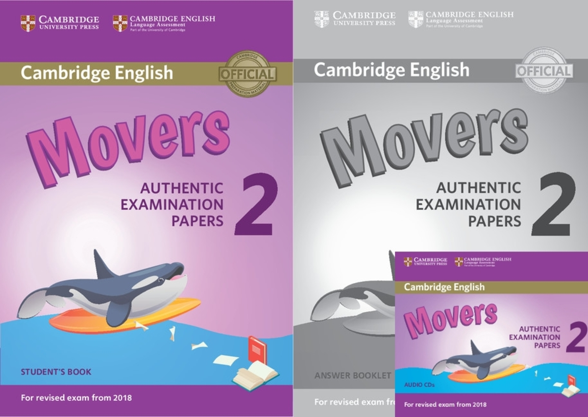 Movers 2 for Revised Exam from 2018套裝