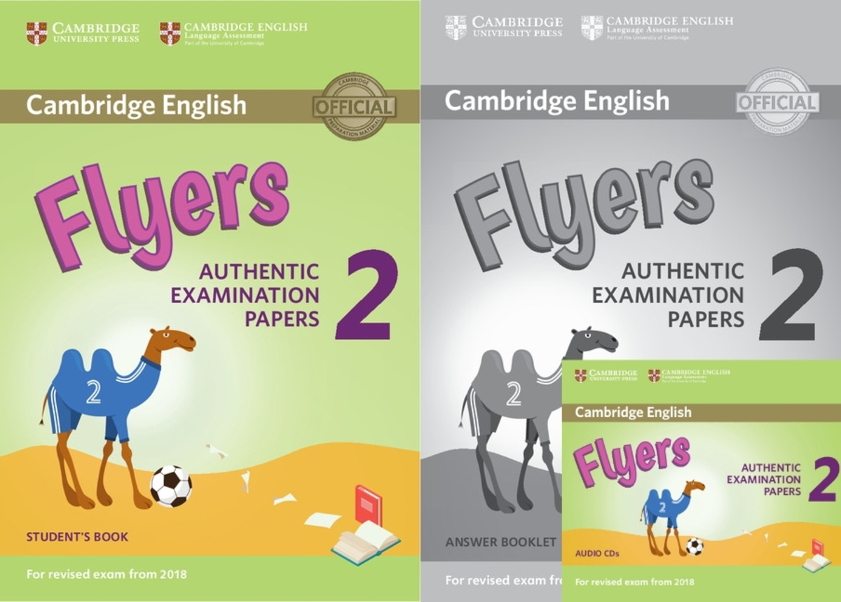 Flyers 2 for Revised Exam from 2018套裝