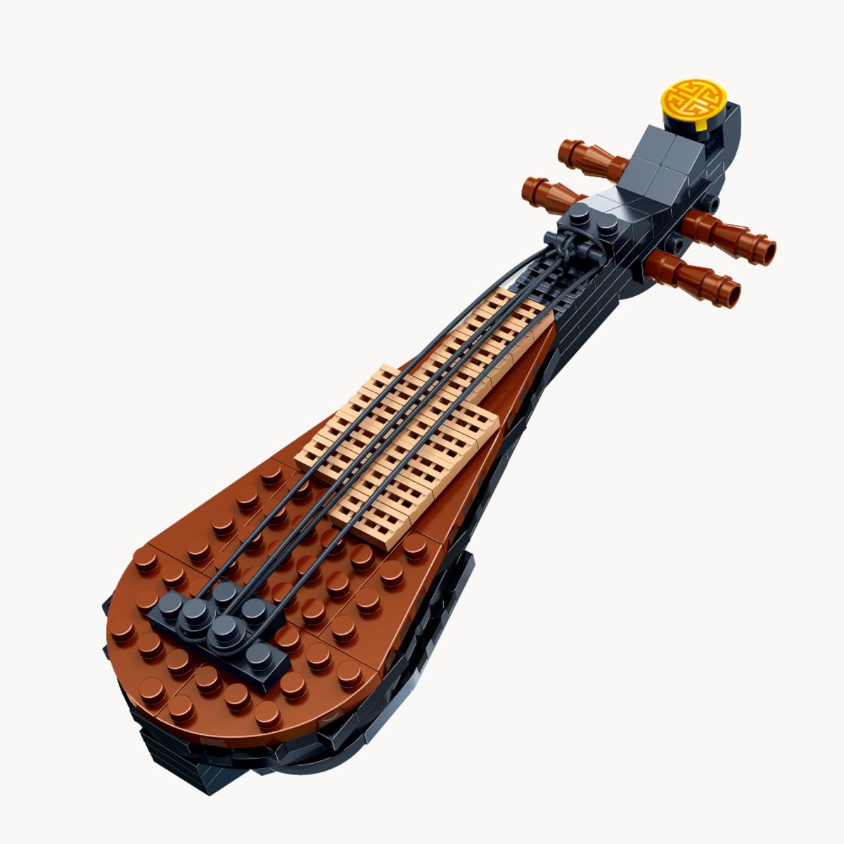 中國樂器積木(琵琶)