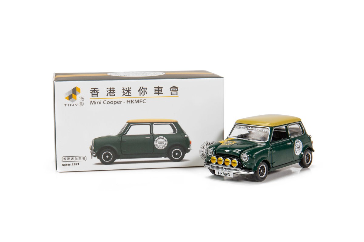 TINY ATC64740 Mini Cooper Mk 1 Hong Kong