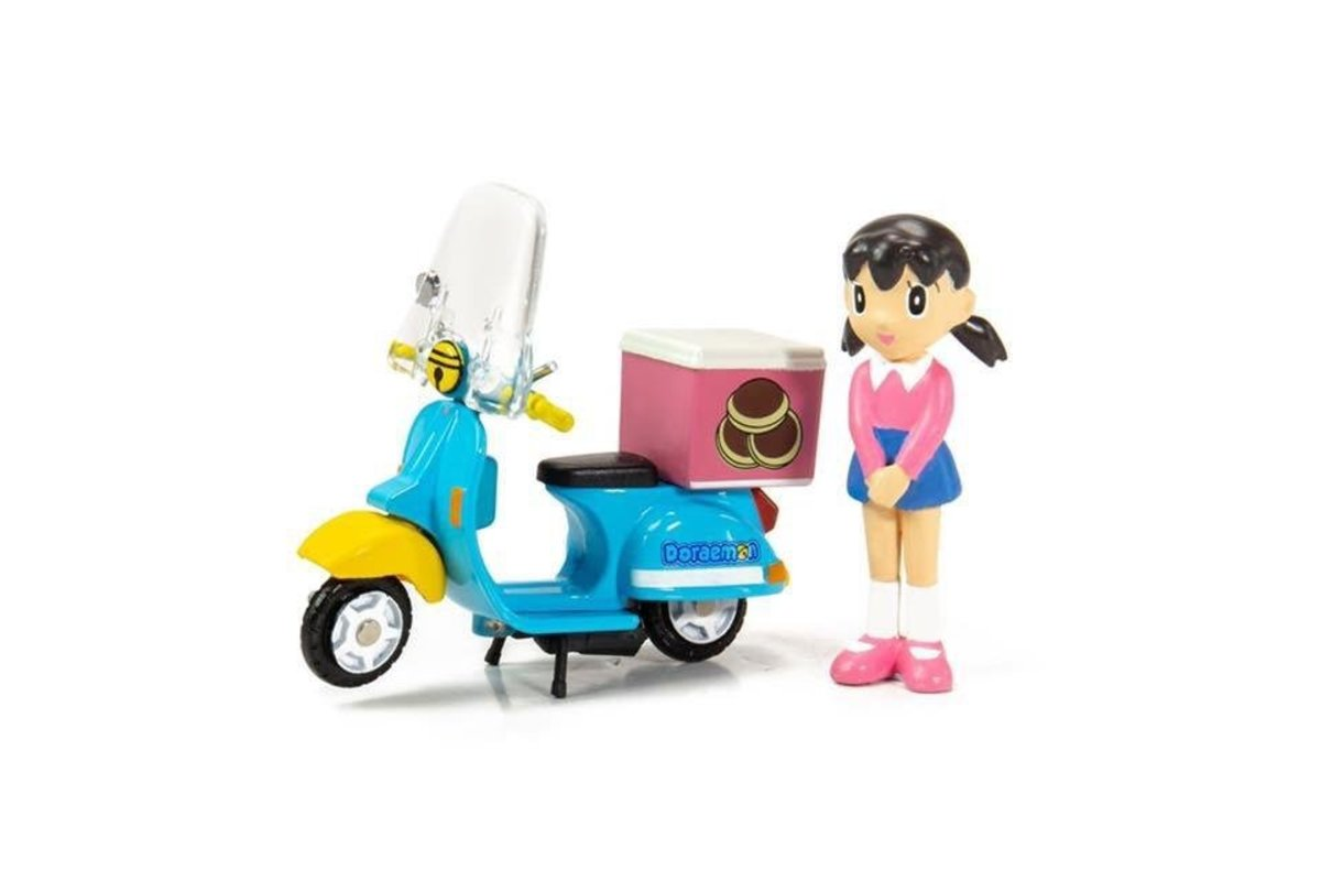 Tiny City Die-cast Model Car - Doraemon Scooter