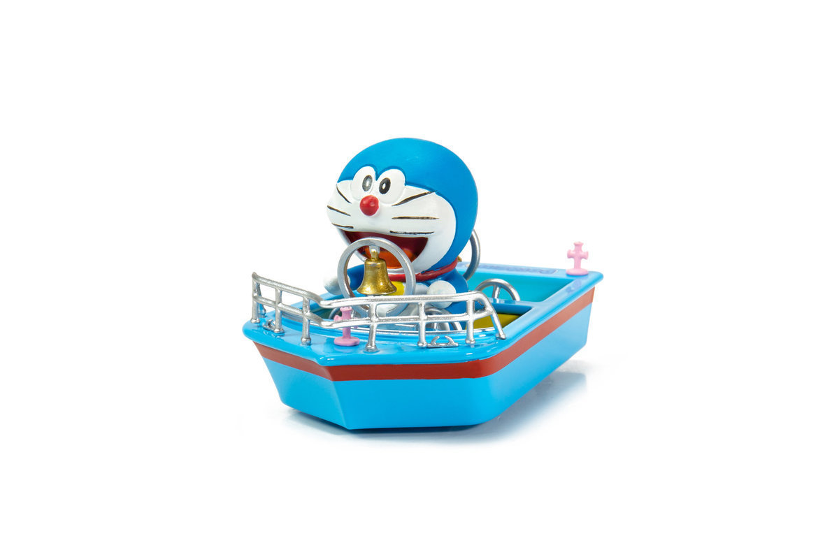 Tiny City Doraemon Ding-dong Boat (with figure)