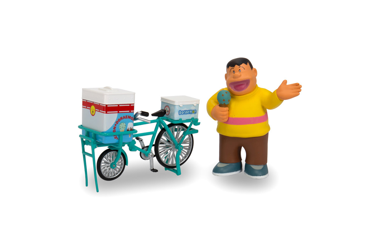 Tiny City 1/35 Doraemon Ice Cream bicycle (with figure)