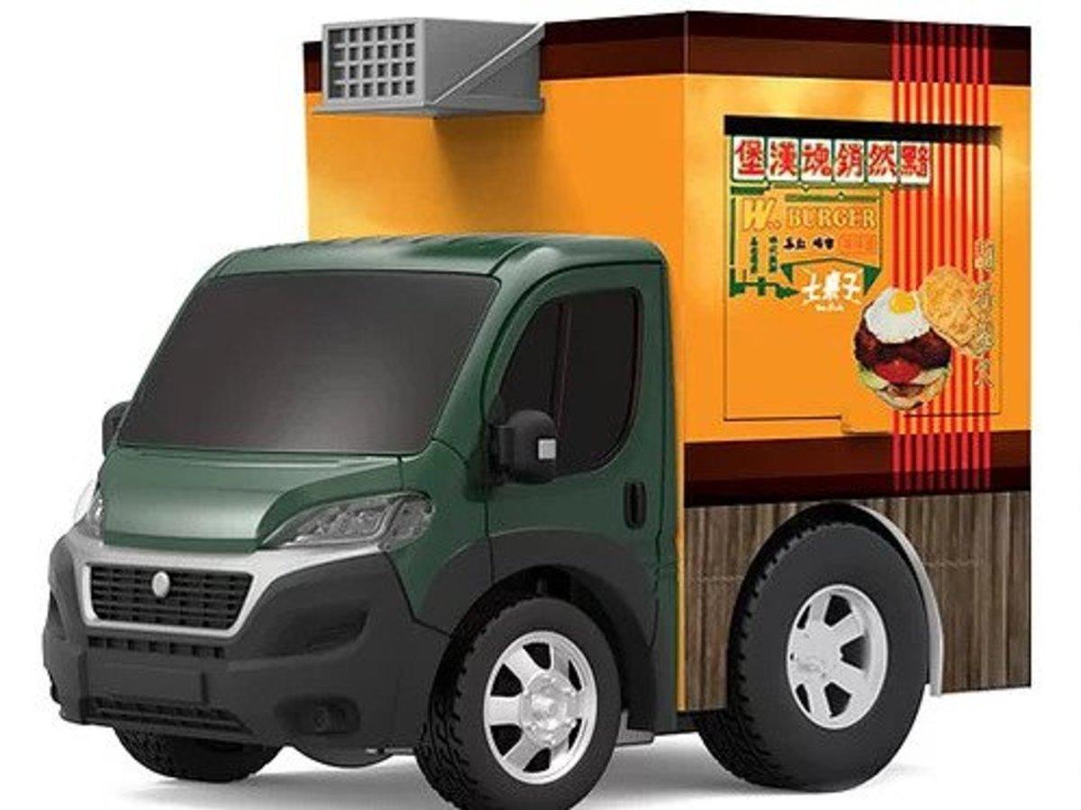 Q Food Truck (Fiat)