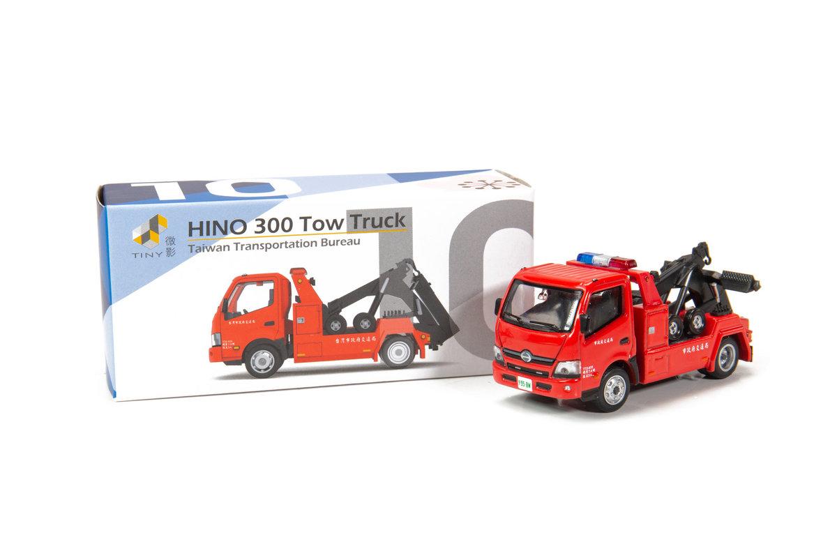TINY ATC64574 城市 TW10 合金車仔 - 日野 300 台灣拖車