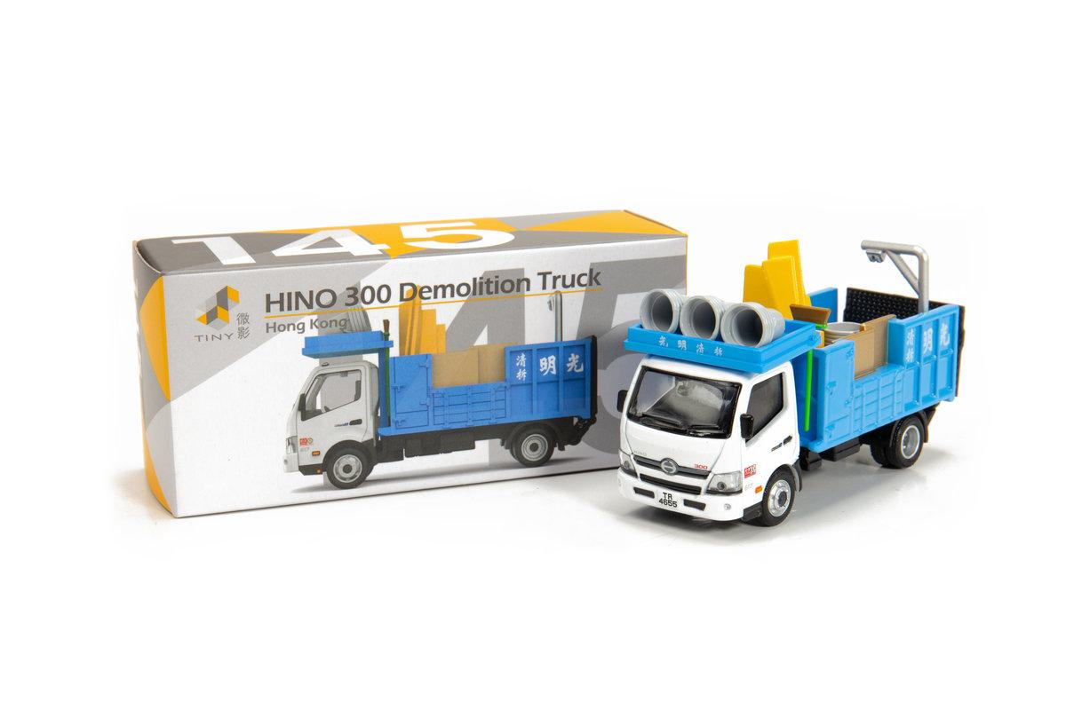 Tiny City Diecast 145 - HINO 300 Demolition Truck