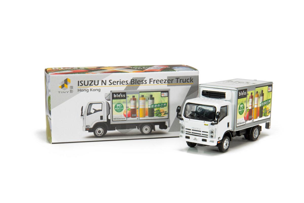 Tiny City 67 Die-cast Model Car - ISUZU N Series Bless Freezer Truck