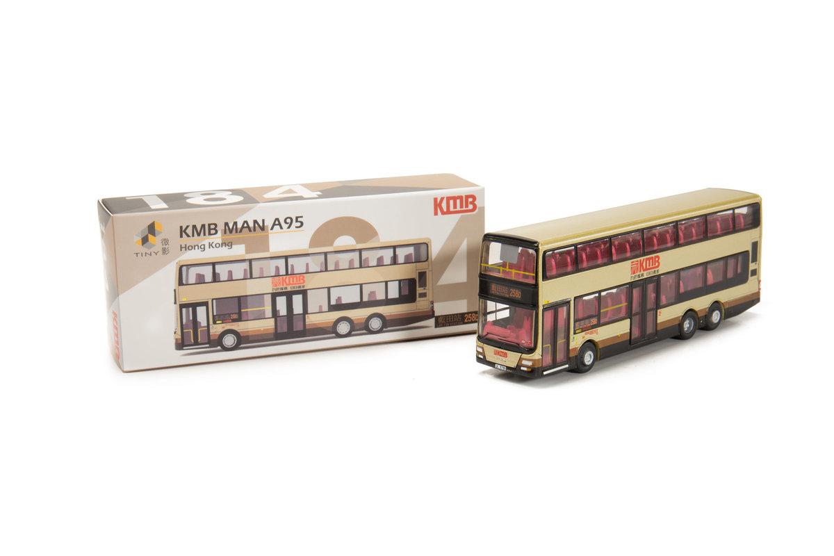 Tiny City 184 Die-cast Model Car - KMB MAN A95 (258D)