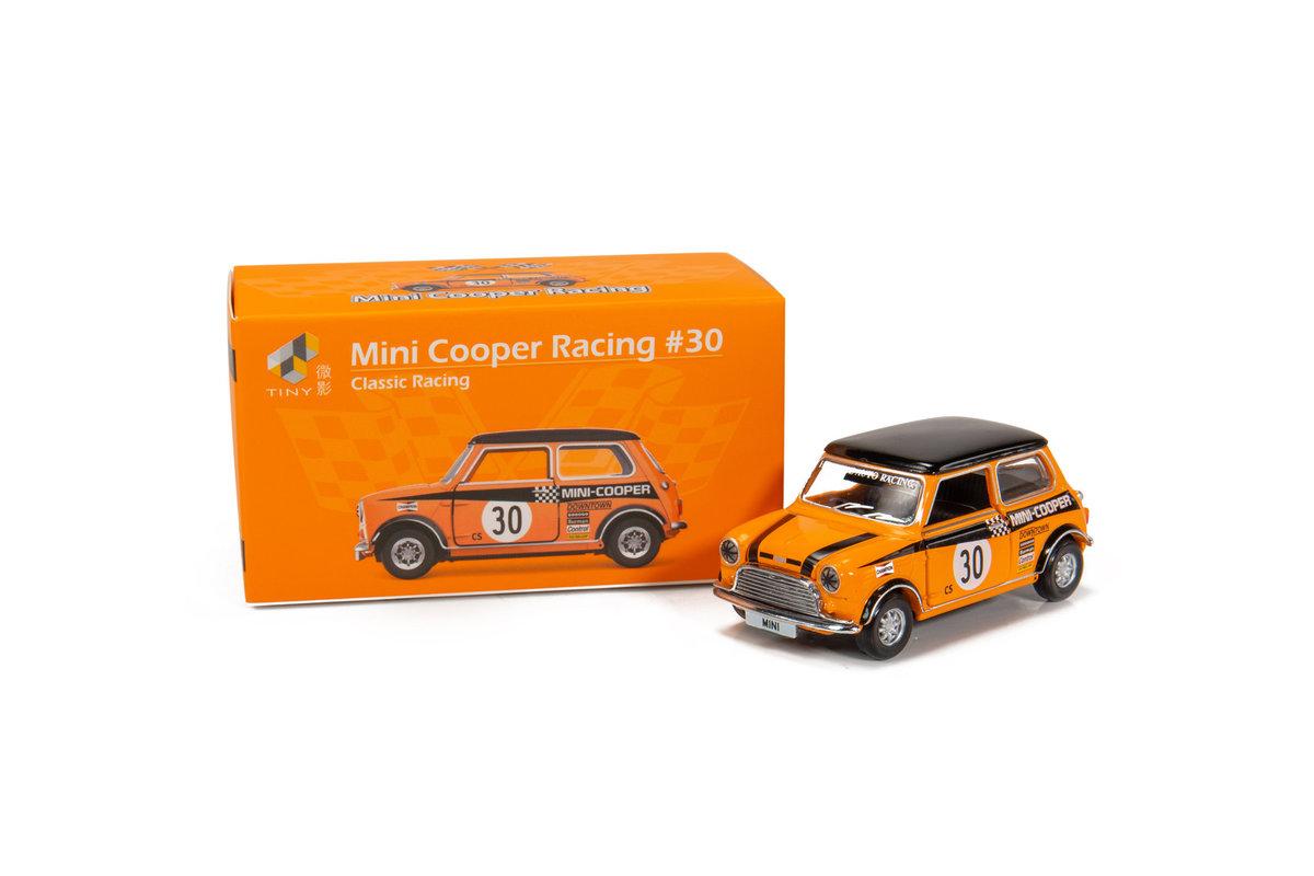 Tiny City Die-cast Model Car - Mini Cooper Racing #30