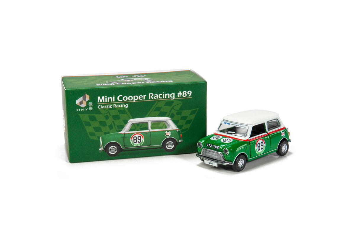 Tiny City Diecast - Mini Cooper Racing #89