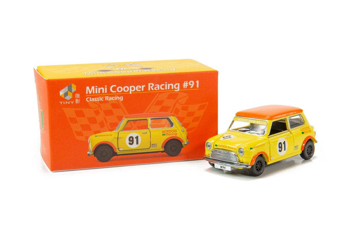 TINY ATC64645 Mini Cooper Racing#91
