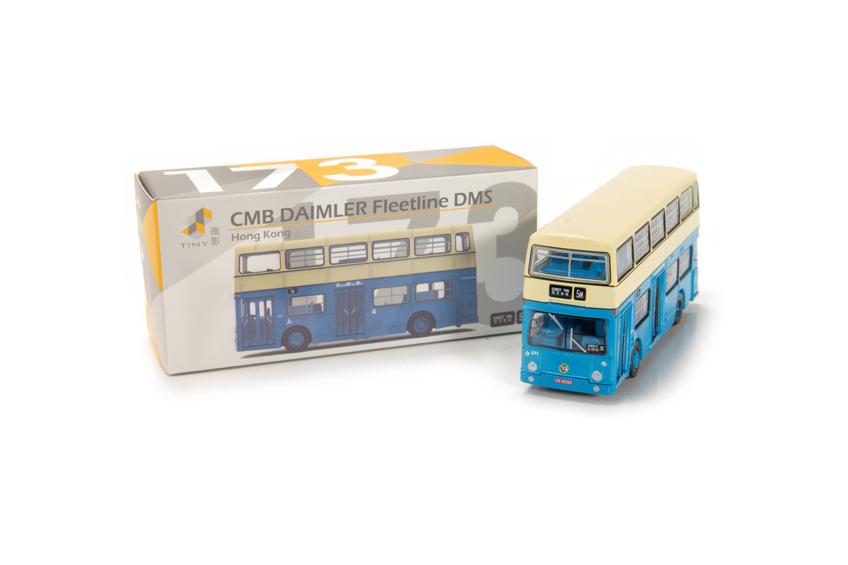 Tiny City 173 Die-cast Model Car - CMB DAIMLER Fleetline DMS
